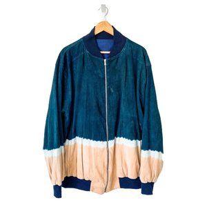 Custom Tie-Dye Bomber Jacket
